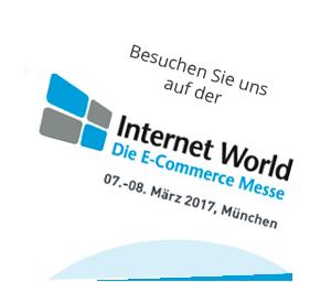 Besuchen Sie uns auf der Internet World 2017